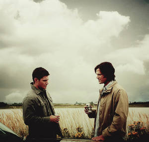 Sam X Reader X Dean) Goodbye by coffeelurvr on DeviantArt