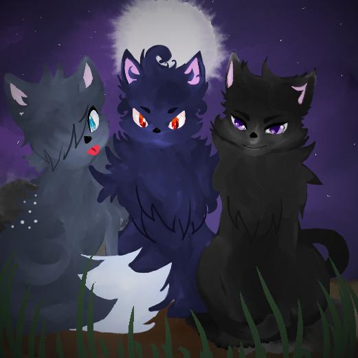 Original Warrior Cat Characters by Kichijoten
