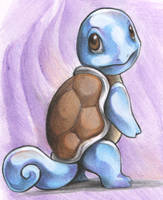Squirtle by DestroyedSteak