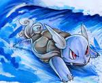 Surfing Wartortle