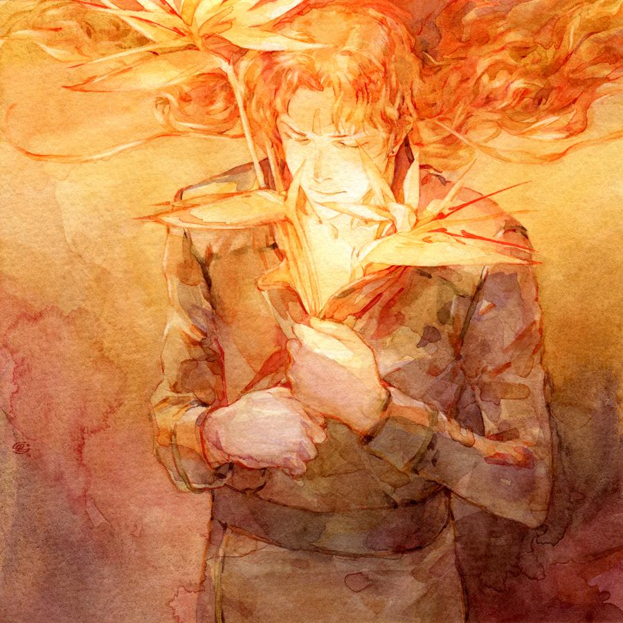 A Fire Inside by chernotrav