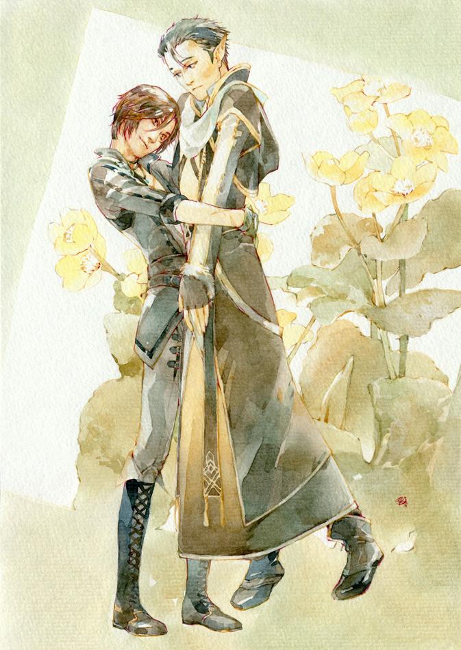 HUG by chernotrav