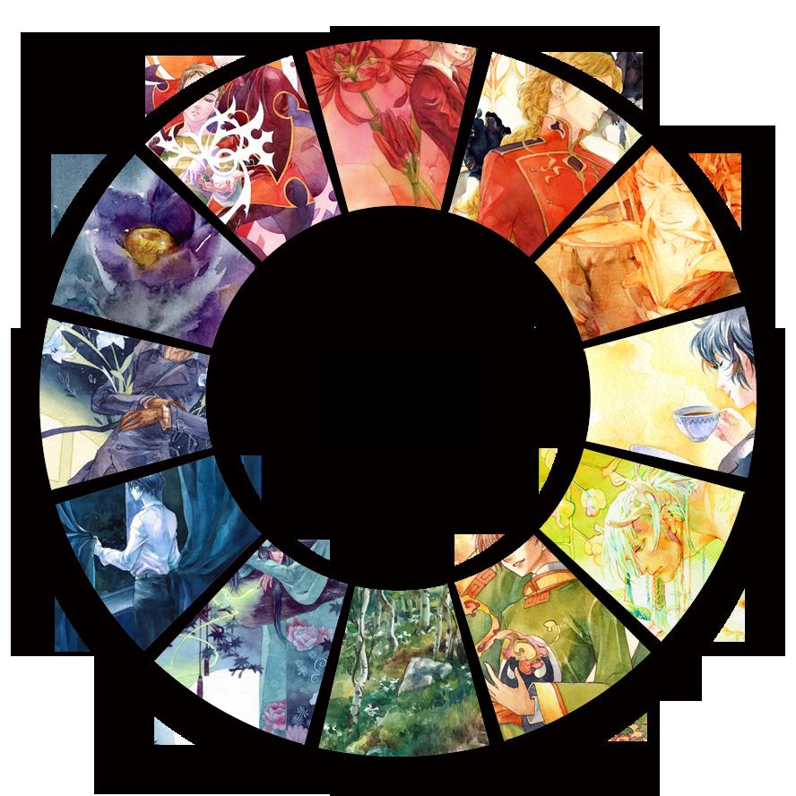 Hue circle by chernotrav