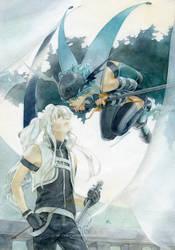 Ryu and Selen by chernotrav