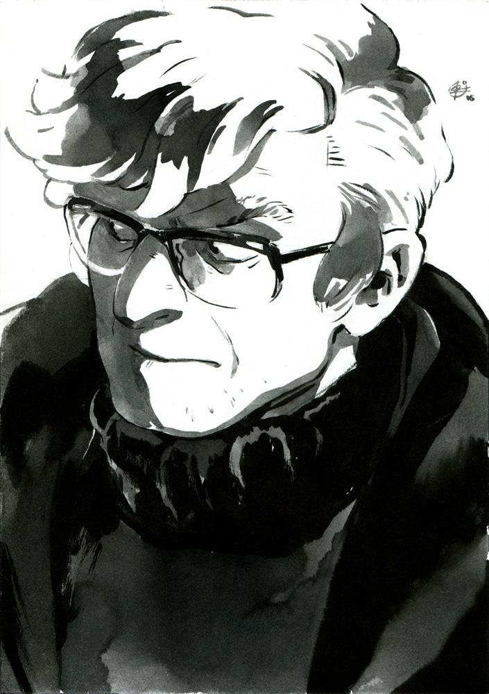 Inktober: Author by chernotrav