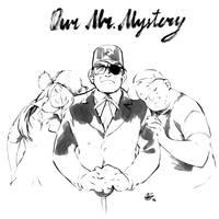 Inktober: Our Mr. Mystery by chernotrav