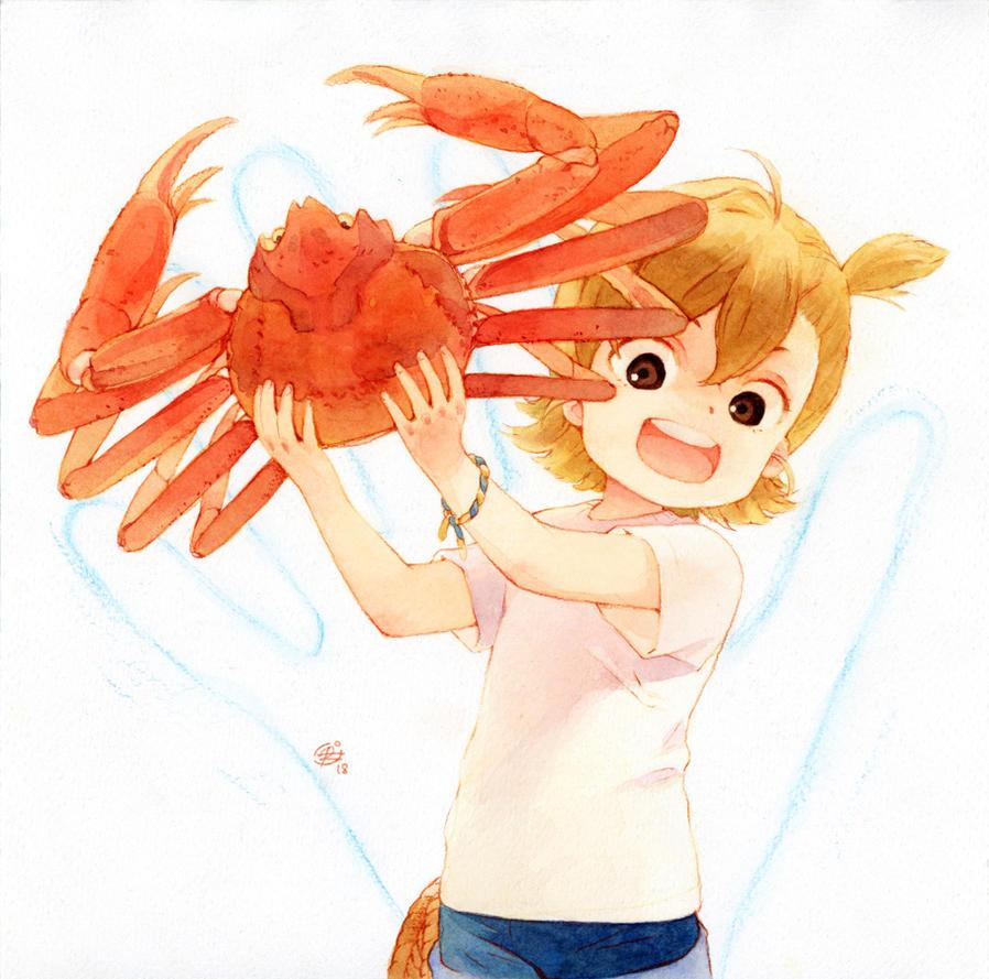 Crab the hand! by chernotrav