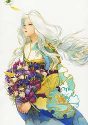 Yukihime by chernotrav