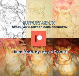 BURN [step-by-step]