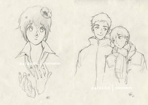 Sketches for my Patrons [4]