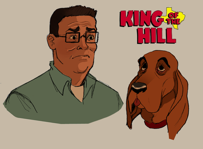 Hank and Ladybird by TitanicGal1912