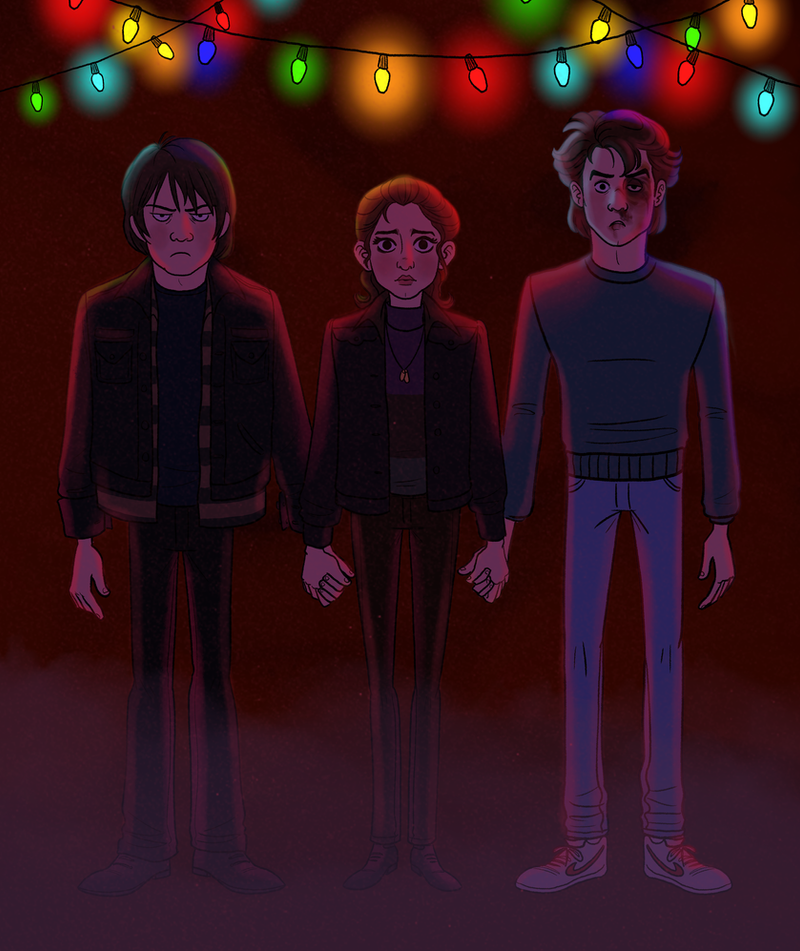 Stranger Things by TitanicGal1912