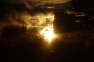 Autumn Sunset - Experiment 4