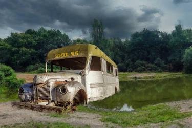 Rusted Schoolbus