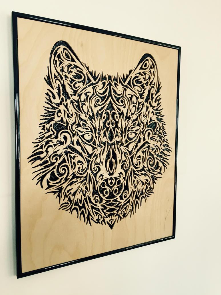 Ornate Wolf by PhoenixHBA