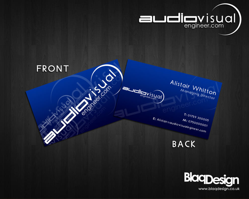 Audiovisual business card by blaqdesign on deviantart audiovisual business card by blaqdesign magicingreecefo Images