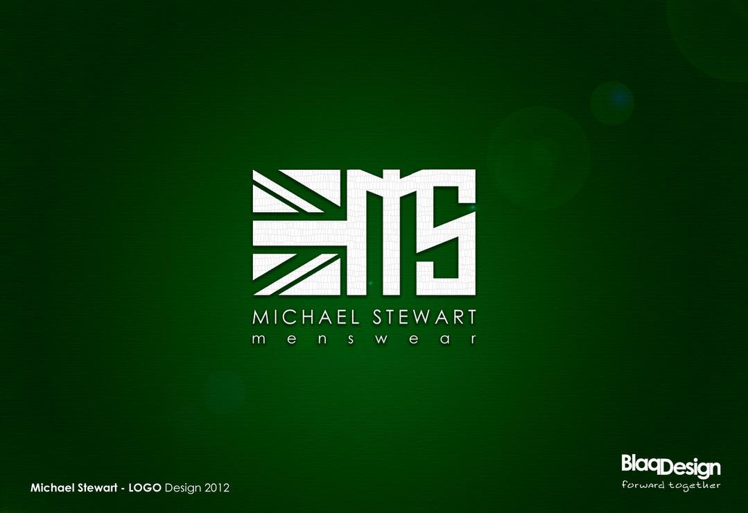 Michael Stewart Menswear - Logo Design by blaqdesign
