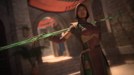 Jade The Edenian Assassin by hamaplier