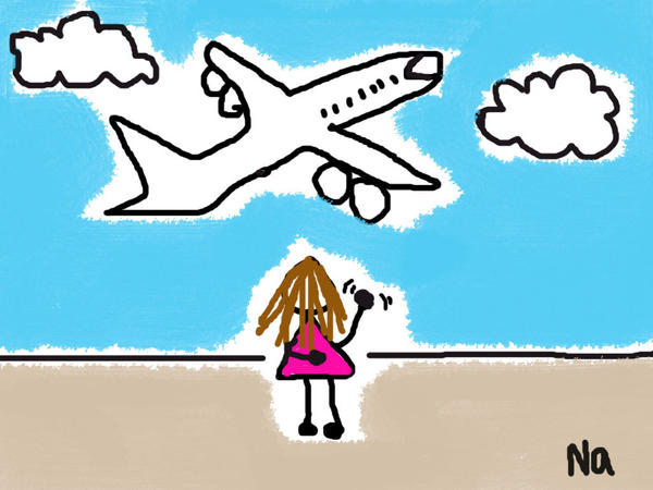 Bye Bye Plane by shinana on DeviantArt