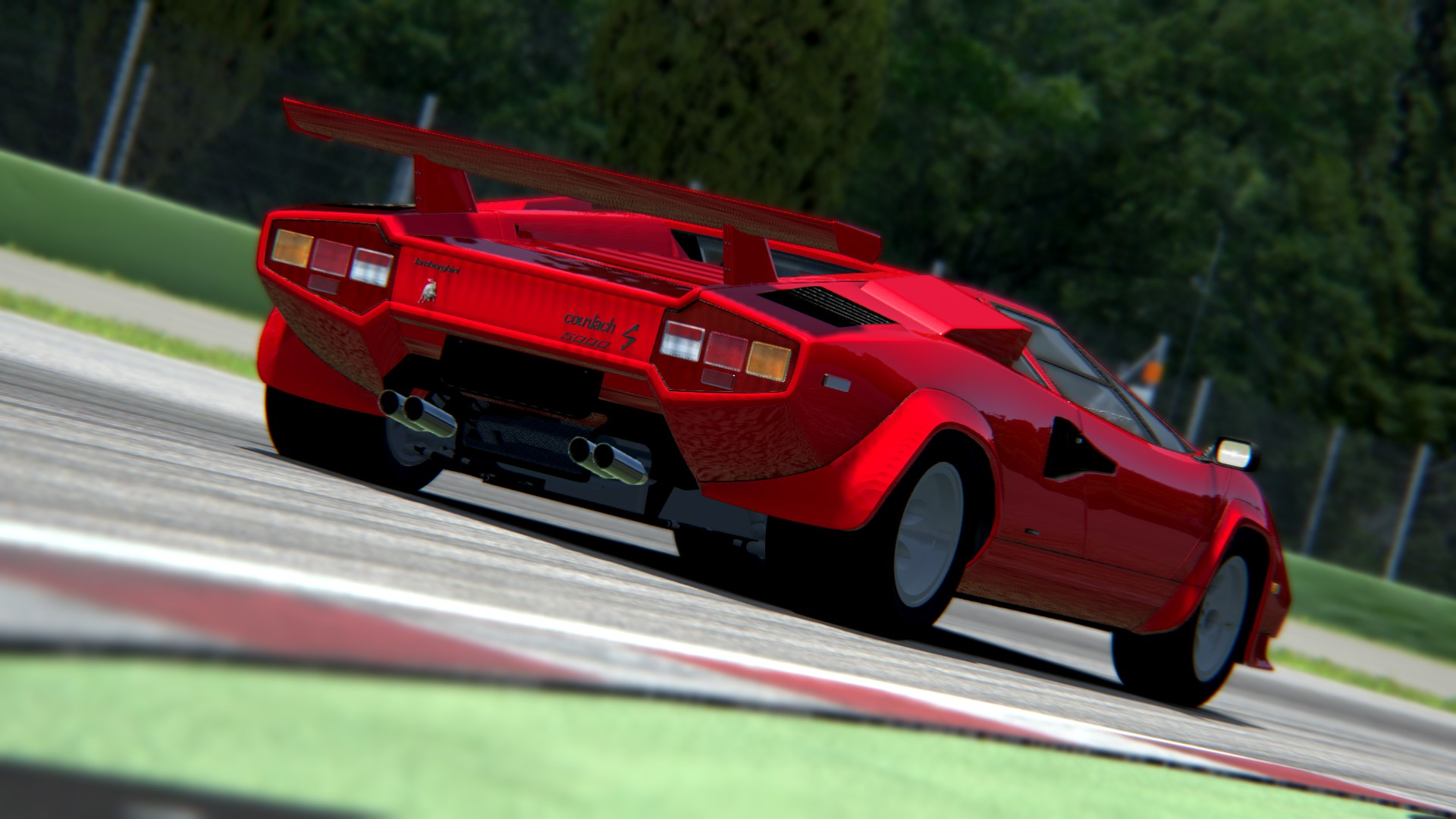 assetto corsa lamborghini countach imola 3 by. Black Bedroom Furniture Sets. Home Design Ideas