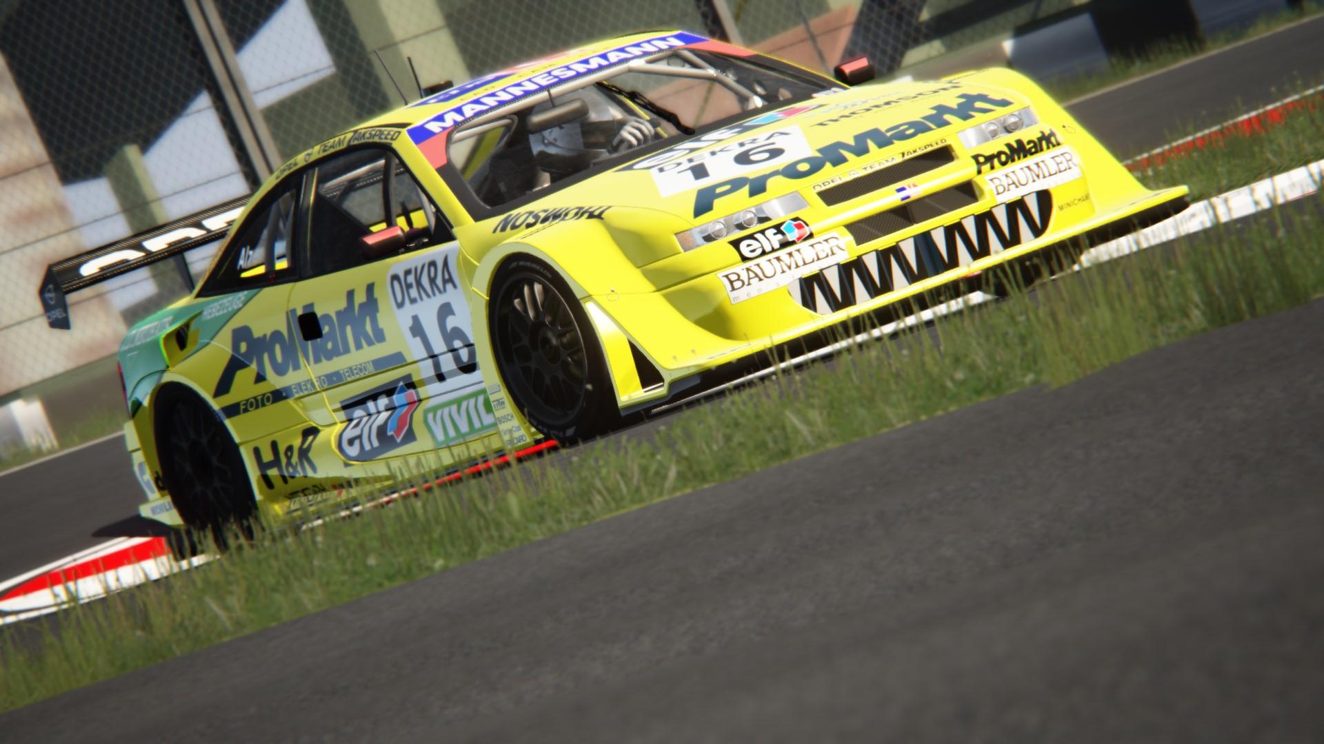 Opel Calibra - ITC 1996 - U  Alzen - Interlagos by