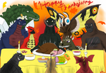 Have a Kaiju Thanksgiving
