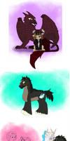 Titan Pony Doodles