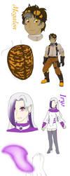 The Dark Hunters (human redesigns) by FallenAngel5414