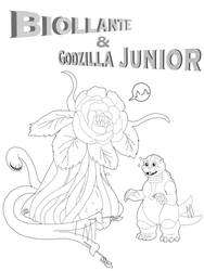 Kaiju Coloring Book: Bio and Junior