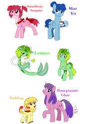 Finally did some ponified Mew Mews