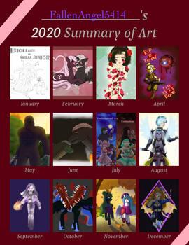 Fallen's art Summary