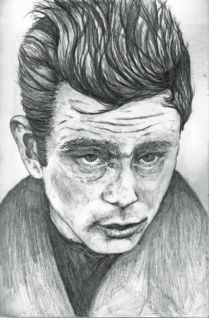 James Dean by Frazzlee