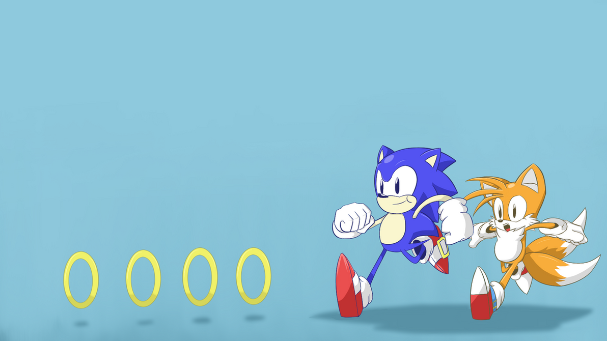 Classic Sonic And Tails Wallpaper 1920x1080 By TheUpbringer