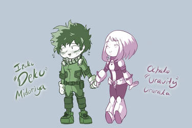 My Hero Academia - Izuku and Ochako