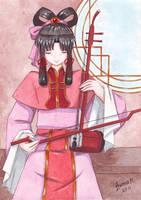 Shuurei plays the erhu by Vestal-Spirit