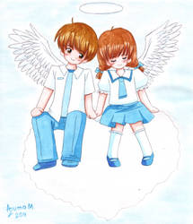 Angel of Love by Vestal-Spirit