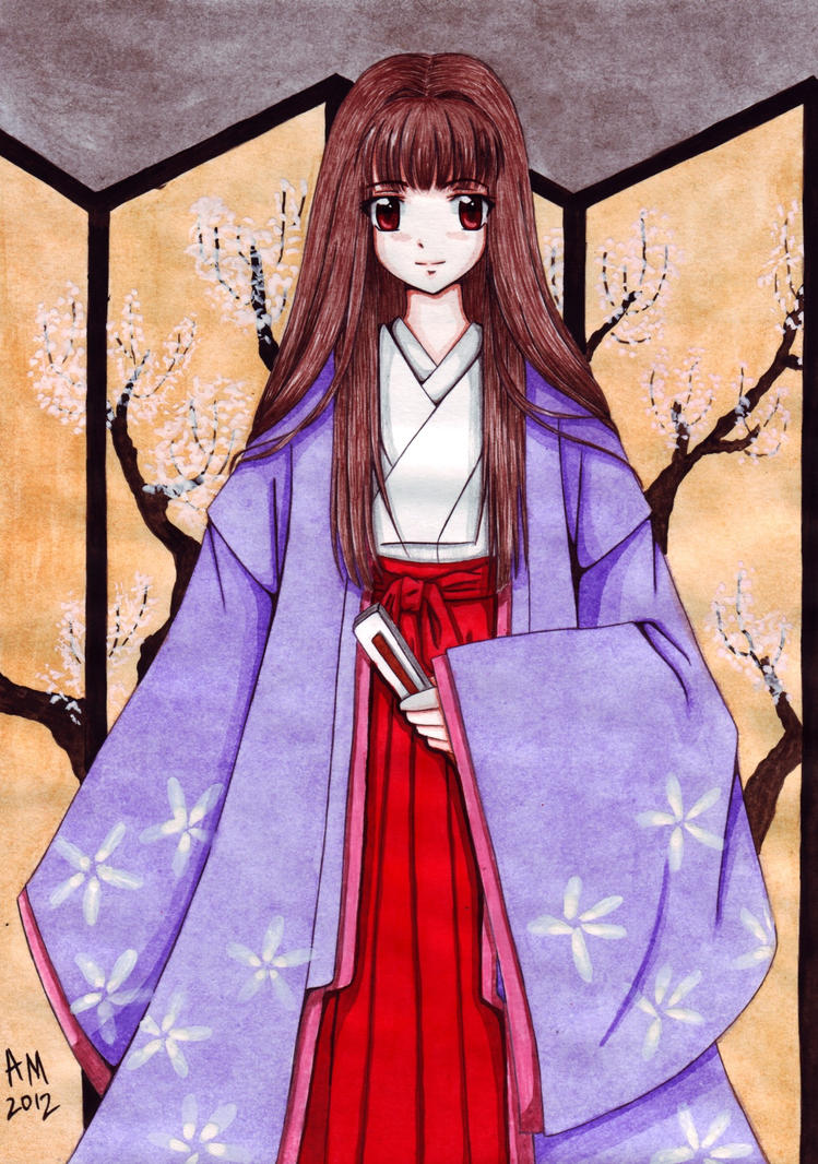 Heian princess by Vestal-Spirit