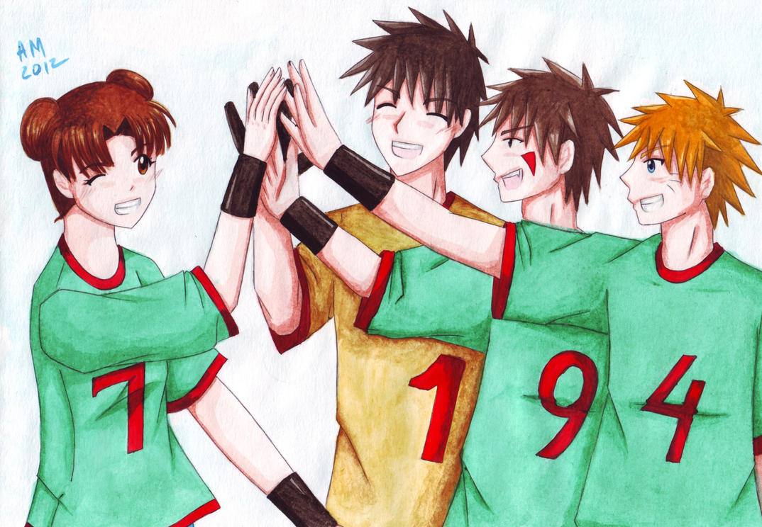 The best team by Vestal-Spirit