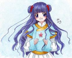 Tomoyo-chan by Vestal-Spirit