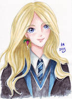 HP: Luna Lovegood by Vestal-Spirit