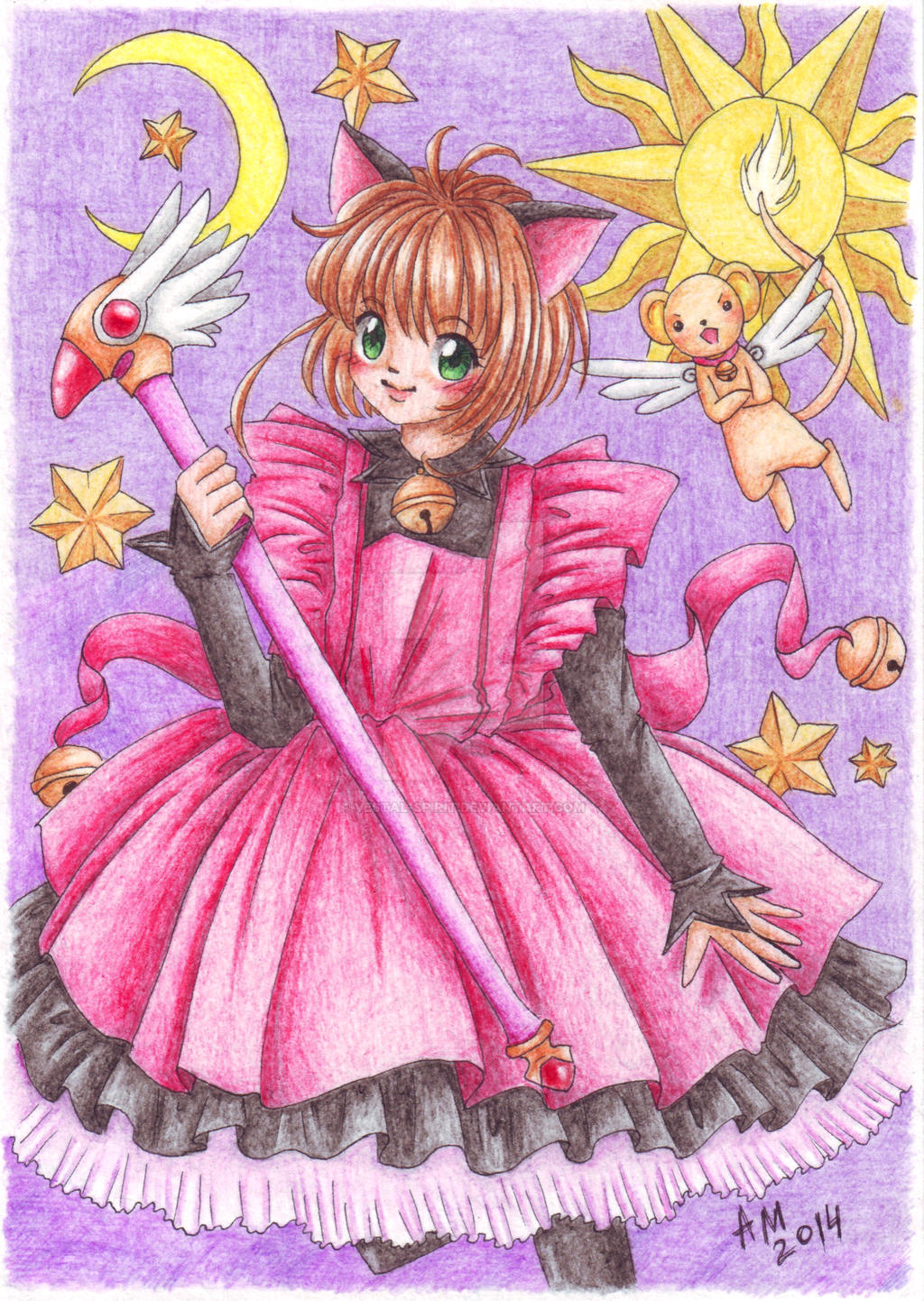 CCS: Kitten in the night by Vestal-Spirit