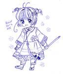 CCS: Sakura (Qing outfit)