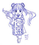 CCS: Mei Ling (Qing outfit)