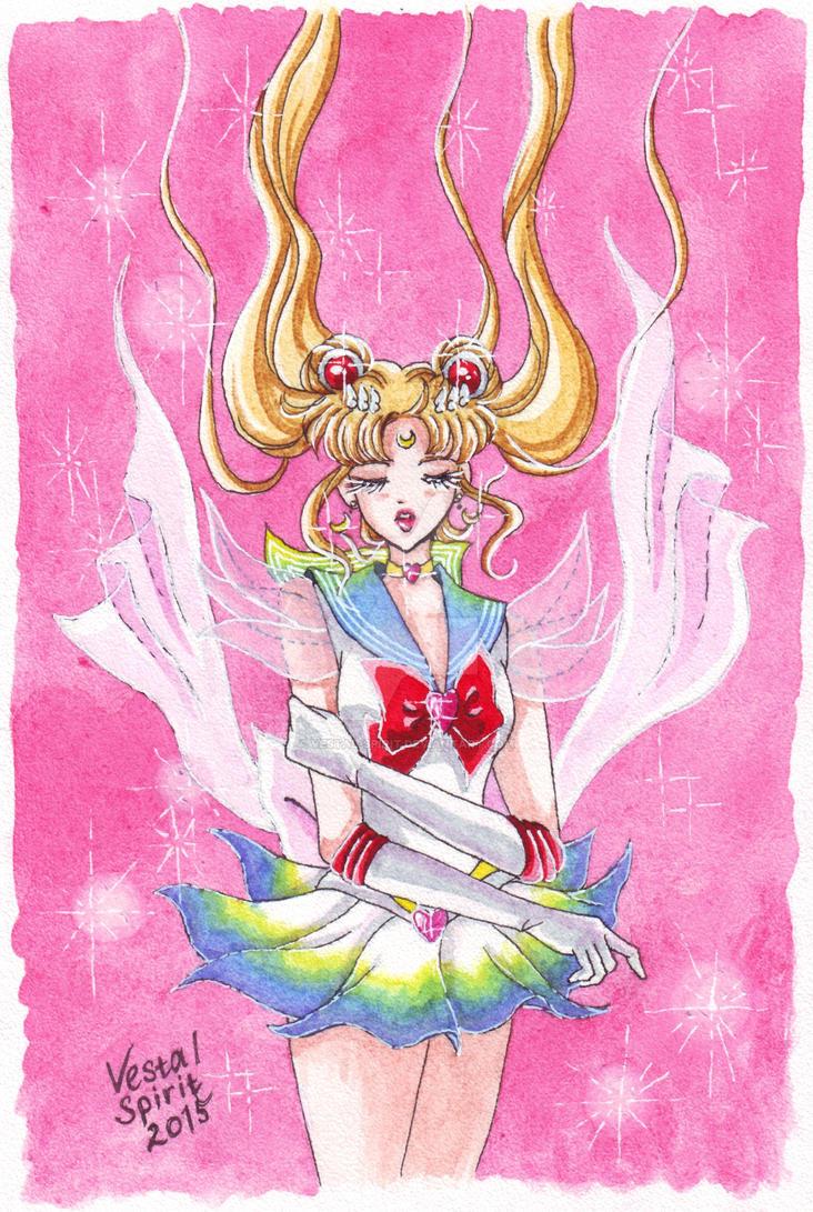 SM: Super Sailor Moon by Vestal-Spirit