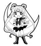 Sailor Moon - chibi Sailor Moon INK