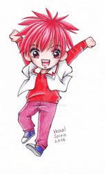 DN Angel: Jumping Daisuke by Vestal-Spirit