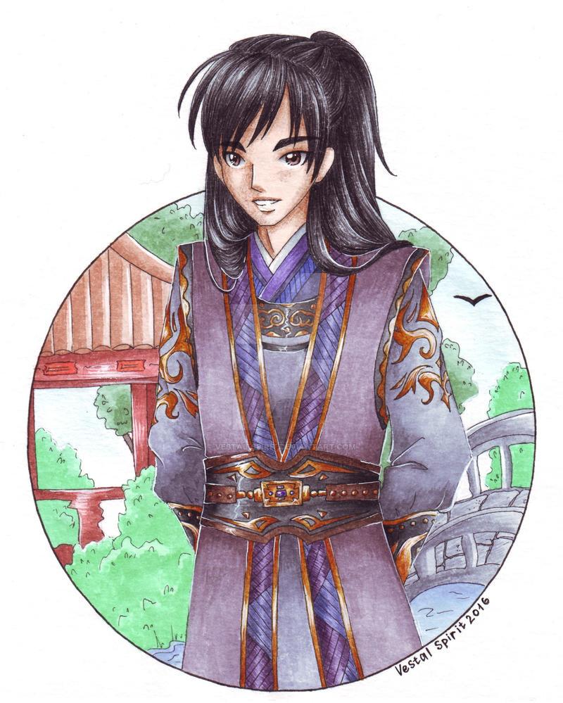 Jasmine: Bai Ying by Vestal-Spirit