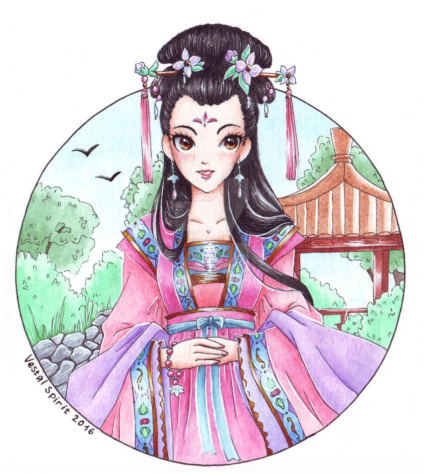 Jasmine: Mo Li by Vestal-Spirit