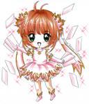 CCS: chibi Sakura new series outfit