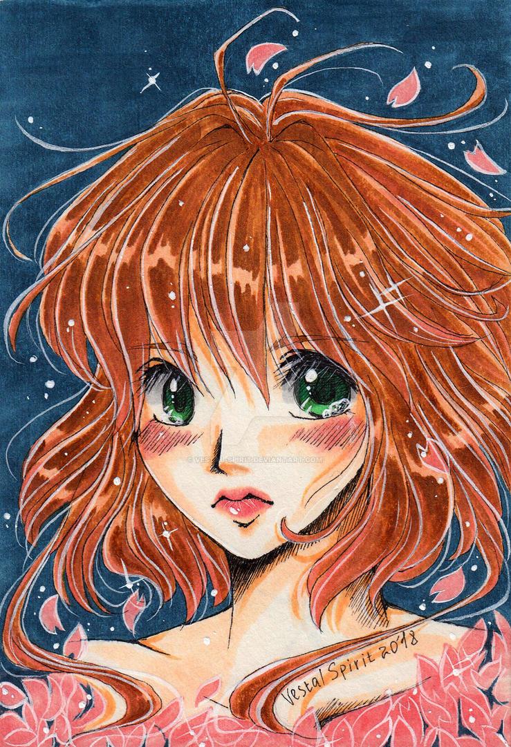 Sakura by Vestal-Spirit